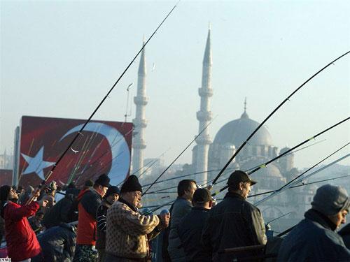 Рыбалка в Турции!